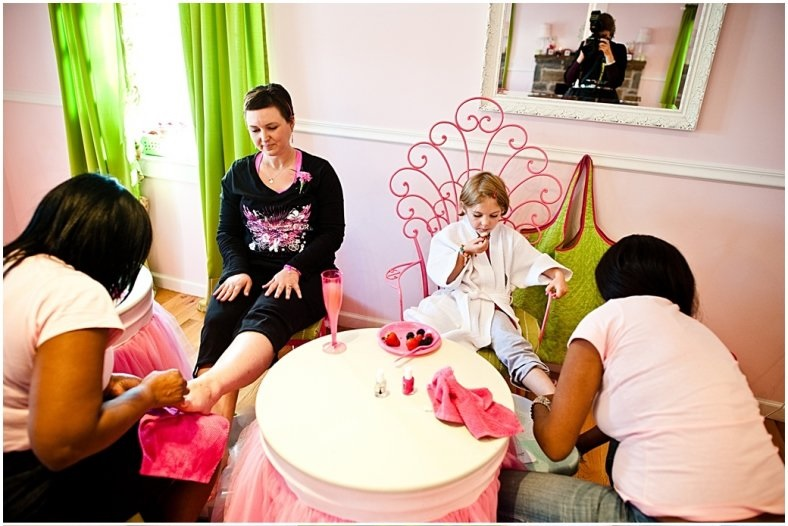 complimentary mommy me spa day for breast cancer patients and their daughters spa tea party. Black Bedroom Furniture Sets. Home Design Ideas